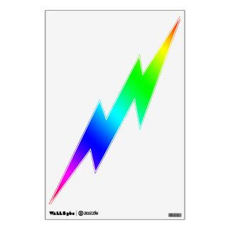 Lightning Bolt Decal - Color Spectrum