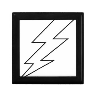 lightning bolt gift box