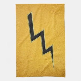 Lightning bolt hand towels