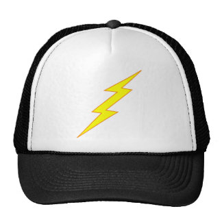 Lightning Bolt Trucker Hats