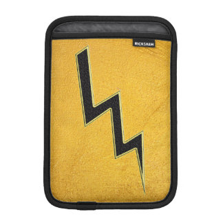 Lightning bolt iPad mini sleeve