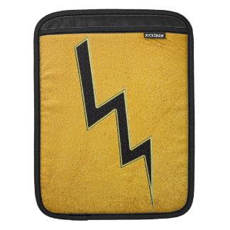Lightning bolt iPad sleeves