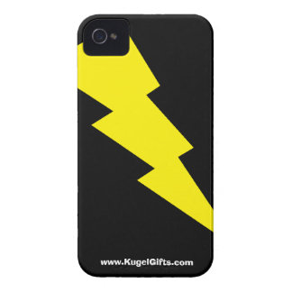 """""""Lightning Bolt"""" iPhone 4/4S Barely There iPhone 4 Case"""