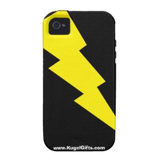 """Lightning Bolt"" iPhone 4 Tough Case"