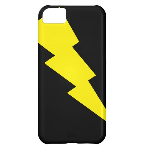 """""""Lightning Bolt"""" iPhone 5 Barely There Cover For iPhone 5C"""