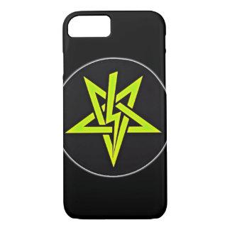 Lightning Bolt Pentagram iPhone 7 Case