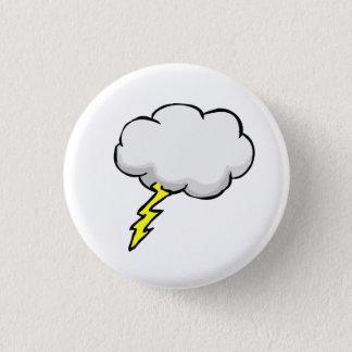 Lightning bolt Thunder 1 Inch Round Button