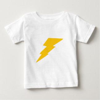 Lightning Bolt, yellow, thunder, storm, superhero Baby T-Shirt