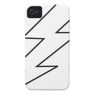 lightning bolta iPhone 4 Case-Mate case