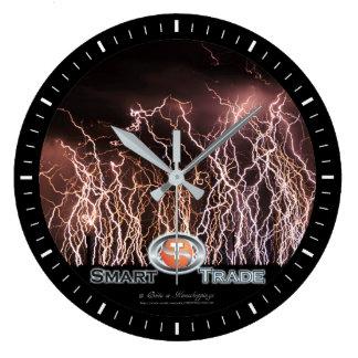 Lightning bolts Business Acrylic Wall Clock