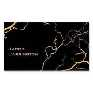 Lightning Bolts (Choose your color) Business Card Magnet