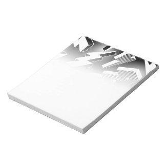Lightning Bolts Notepad
