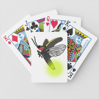 lightning bug flight 2 lit bicycle playing cards