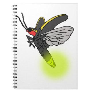 lightning bug flight 2 lit notebook