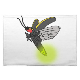 lightning bug flight 2 lit placemat