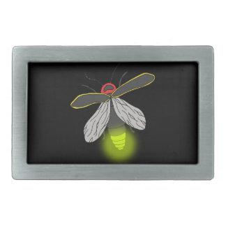 lightning bug flight lit belt buckles