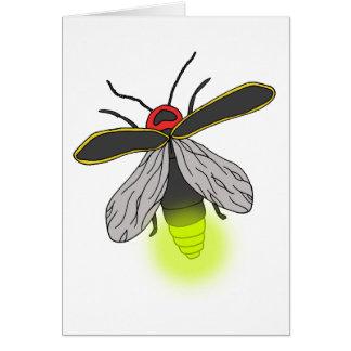 lightning bug flight lit card
