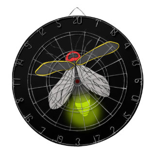 lightning bug flight lit dartboard