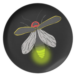 lightning bug flight lit plate