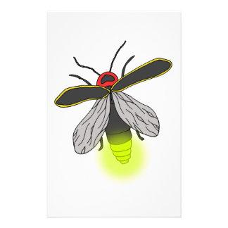 lightning bug flight lit stationery