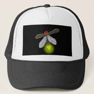 lightning bug flight lit trucker hat
