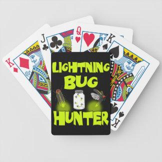 lightning bug hunter bicycle playing cards