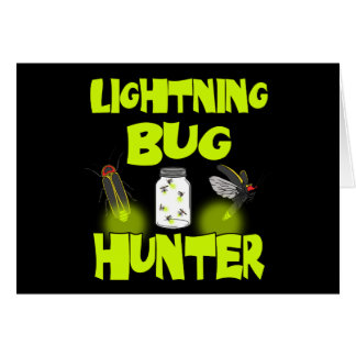 lightning bug hunter card
