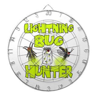 lightning bug hunter dartboard