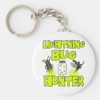 lightning bug hunter keychain