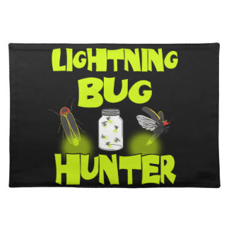 lightning bug hunter placemat