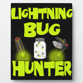 lightning bug hunter plaque