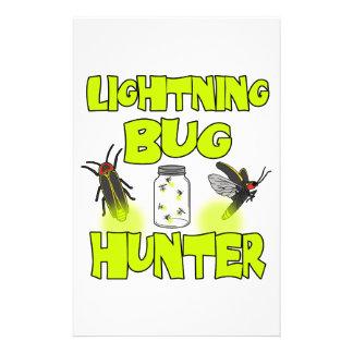 lightning bug hunter stationery