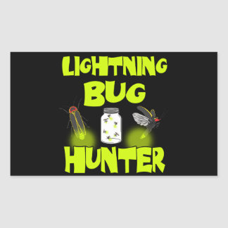 lightning bug hunter sticker