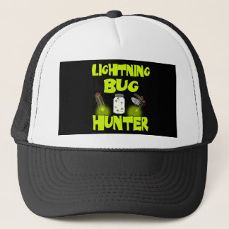 lightning bug hunter trucker hat