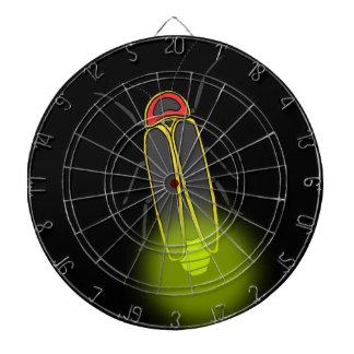 lightning bug lit dartboard