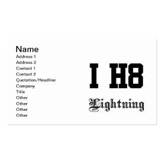 lightning business card templates