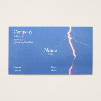 Lightning Business Card