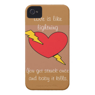 Lightning Case-Mate Case iPhone 4 Cover