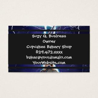 Lightning Cat Business Card