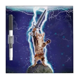 Lightning Cat Dry Erase Boards