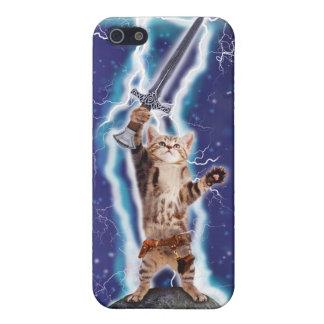 Lightning Cat iPhone 5/5S Cases
