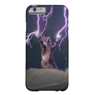 Lightning cat--kitty-pet-feline-pet cat -kittens barely there iPhone 6 case
