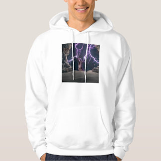 Lightning cat--kitty-pet-feline-pet cat -kittens hoodie