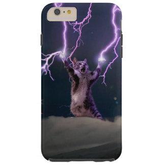 Lightning cat--kitty-pet-feline-pet cat -kittens tough iPhone 6 plus case