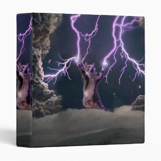 Lightning cat--kitty-pet-feline-pet cat -kittens vinyl binders