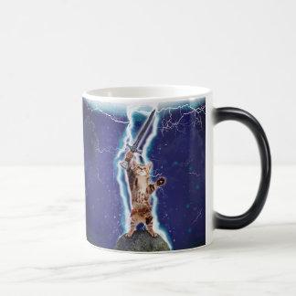 Lightning Cat Magic Mug