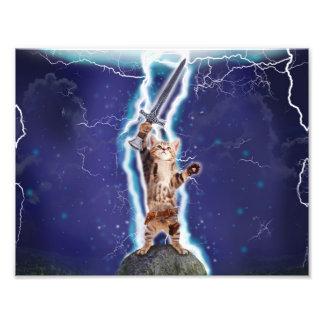 Lightning Cat Photo