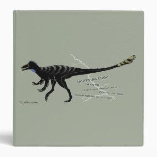 Lightning Claw Dinosaur Avery Sig 1.5'' Binder