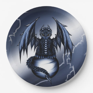 Lightning Dragon Paper Plate
