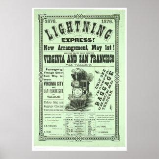 Lightning Express! (1831A) Poster